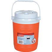 "Rubbermaid FG15600611 - Water Cooler 1 Gallon, Orange, Polypropylene, 10-1/2""H"