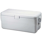 "Rubbermaid FG198200TRWHT - Marine Cooler, 102 Qt. White, Polypropylene, 16-1/2""H"