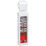 Pelouze FGTHR80P - Thermometer, Refrigerator / Freezer, Stainless Steel, -20 To 120°F - Pkg Qty 12