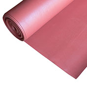 "Rubber-Cal ""SBR - Red"" 65A Rubber Sheet, 1/16""THK x 3'W x 20'L"