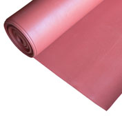 "Rubber-Cal ""SBR - Red"" 65A Rubber Sheet, 1/4""THK x 3'W x 20'L"