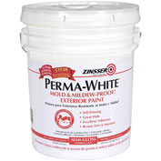 Zinsser® PERMA-WHITE Mold & Mildew-Proof Interior Paint, White Semi-Gloss 5 Gallon Pail - 2750