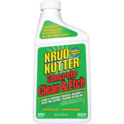 Krud Kutter Concrete Clean & Etch, 32 oz. Bottle 6/Case - CE326 - Pkg Qty 6