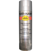 Rust-Oleum High Performance V2100 System Galvanizing Compound Aerosol, Bright 20 oz. Can - V2117838 - Pkg Qty 6
