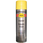 Rust-Oleum High Performance V2100 Rust Preventive Enamel Aerosol, Safety Yellow, 15 oz.- V2143838 - Pkg Qty 6