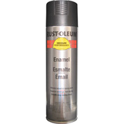 Rust-Oleum High Performance V2100 Rust Preventive Enamel Aerosol, Flat Black, 15 oz. - V2178838 - Pkg Qty 6