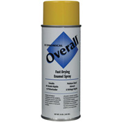 Rust-Oleum Yellow Overall Economical Enamel Aerosol, 10 oz. - V2409830 - Pkg Qty 6