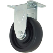 "RWM Casters 27 Series VersaTrac® 3"" Polyolefin Wheel Rigid Caster - 27-POP-0312-R"