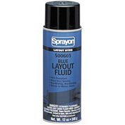 Sprayon SP603 Blue Layout Dye, 12 oz. Aerosol Can - S00603000 - Pkg Qty 12