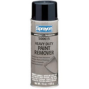 Sprayon SP615 Heavy Duty Paint Remover, 15 oz. Aerosol Can - s00615000 - Pkg Qty 12