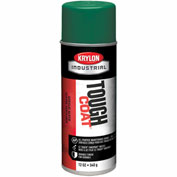 Krylon Industrial Tough Coat Acrylic Enamel Machine Green - A01415007 - Pkg Qty 12