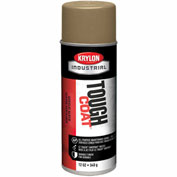 Krylon Industrial Tough Coat Acrylic Enamel Gold - S01765 - Pkg Qty 12