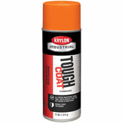 Krylon Industrial Tough Coat Fluorescent Orange - A01811007 - Pkg Qty 12