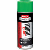 Krylon Industrial Tough Coat Fluorescent Electric Green - A01815007 - Pkg Qty 12