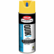 Krylon Industrial Quik-Mark Wb Inverted Mkg Paint Apwa Brilliant Yellow - A03402004 - Pkg Qty 12