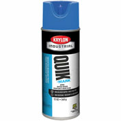 Krylon Industrial Quik-Mark Wb Inverted Marking Paint Apwa Brilliant Blue - S03406 - Pkg Qty 12
