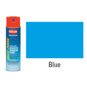 Krylon Industrial Quik-Mark Wb Inverted Marking Paint Fluor. Caution Blue - S03620 - Pkg Qty 12