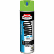 Krylon Industrial Quik-Mark Wb Inverted Marking Paint Fluor. Safety Green - A03630004 - Pkg Qty 12