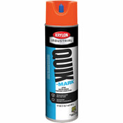 Krylon Industrial Quik-Mark Wb Inverted Marking Paint Apwa Orange - S03905 - Pkg Qty 12