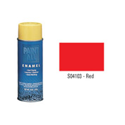 Krylon Industrial Paint-All Enamel Paint Red - S04103 - Pkg Qty 12