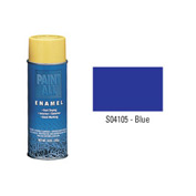 Krylon Industrial Paint-All Enamel Paint Blue - S04105 - Pkg Qty 12