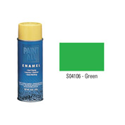 Krylon Industrial Paint-All Enamel Paint Green - S04106 - Pkg Qty 12