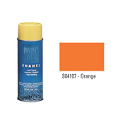 Krylon Industrial Paint-All Enamel Paint Orange - S04107 - Pkg Qty 12