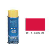 Krylon Industrial Paint-All Enamel Paint Cherry Red - S04116 - Pkg Qty 12