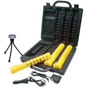 Sun-In-One™ SIO3BFKY LED Flare Kit, Yellow, Crushproof Polycarbonate Plastic & Rubber