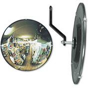 "See All® 160-Degree Convex Security Mirror, 12"" Diameter"