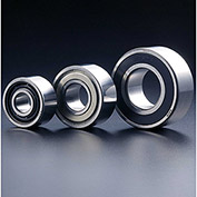 SMT 5208-2RS Double Row Angular Contact Ball Bearing, Double Sealed, OD 80mm, Bore 40mm, Metric