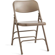 Steel Folding Chair - Neutral/Neutral