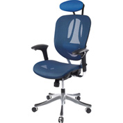 Zurich Mesh Office Chair - Blue/Black