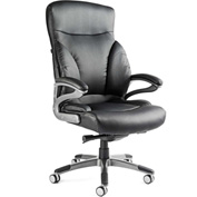 Santa Barbara Executive Chair, Bonded Leather - Black
