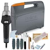 Steinel HG 2300 EM Industrial Heat Gun w/ HAWK Flooring Kit
