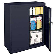 "Sandusky Classic Counter Height Storage Cabinet CA21361842-02 - 36""W x 18""D x 42""H Charcoal"