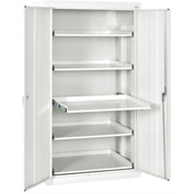 Sandusky Pull-Out Tray Shelf Storage Cabinet ET52362466 - 36x24x66, Standard White