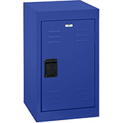 "Sandusky Welded Steel Color Lockers LF1B151524-06 - 15""W x 15""D x 24""H Blue"