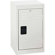"Sandusky Welded Steel Color Lockers LF1B151524-22 - 15""W x 15""D x 24""H White"