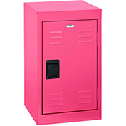 "Sandusky Welded Steel Color Lockers LF1B151524-30 - 15""W x 15""D x 24""H Pom Pom Pink"