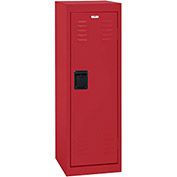 "Sandusky Welded Steel Color Lockers LF1B151548-01 - 15""W x 15""D x 48""H Red"