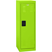"Sandusky Welded Steel Color Lockers LF1B151548-38 - 15""W x 15""D x 48""H Electric Green"