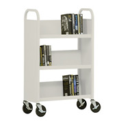 Sandusky® SL327 3-Shelf Single Sided Mobile Utility Truck 27x13 - Putty
