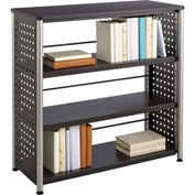Safco® Scoot™ 3 Shelf Bookcase, Black