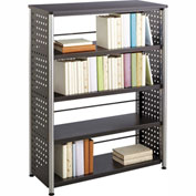Safco® Scoot™ 4 Shelf Bookcase, Black
