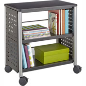 Safco® Scoot™ Personal Bookcase, Black