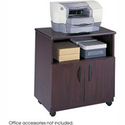 Safco® 1850MH Mobile Machine Stand - Mahogany