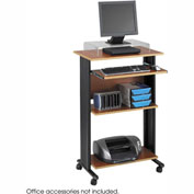 Safco® 1923CY Muv™ Stand-up Workstation - Cherry