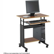 "Muv™ 28"" Adjustable Height Workstation - Cherry"