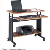 "Safco® 1926CY Muv™ 35"" Adjustable Height Workstation - Cherry"